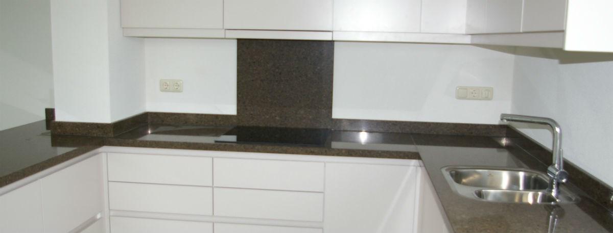 Witte Keuken Met Bruin Werkblad : Keukens m de bruijn keuken ...